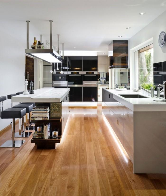 Hogares Frescos: Una Cocina Contemporánea en Australia por Darren James