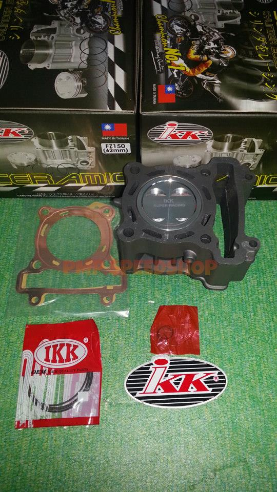 Cylinder Block Kit 62mm IKK Ceramic Coated Yamaha 135LC