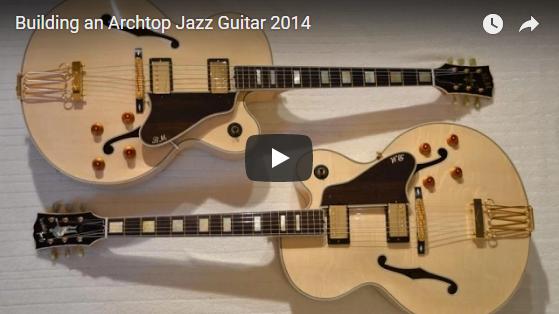 Curso Construção de um Guitarra Clássica L5 CES Passo a Passo Completo