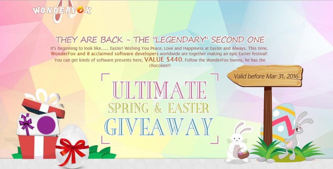 عرض جديد 9 برامج مدفوعة قيمتها 440 دولار مجانا لفترة محدودة من شركة Wonderfox