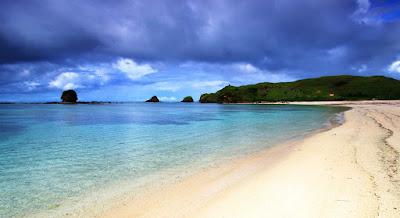 The Beach On Moyo Island