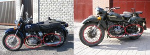 highlighting the differences between Dnepr MT and Ural