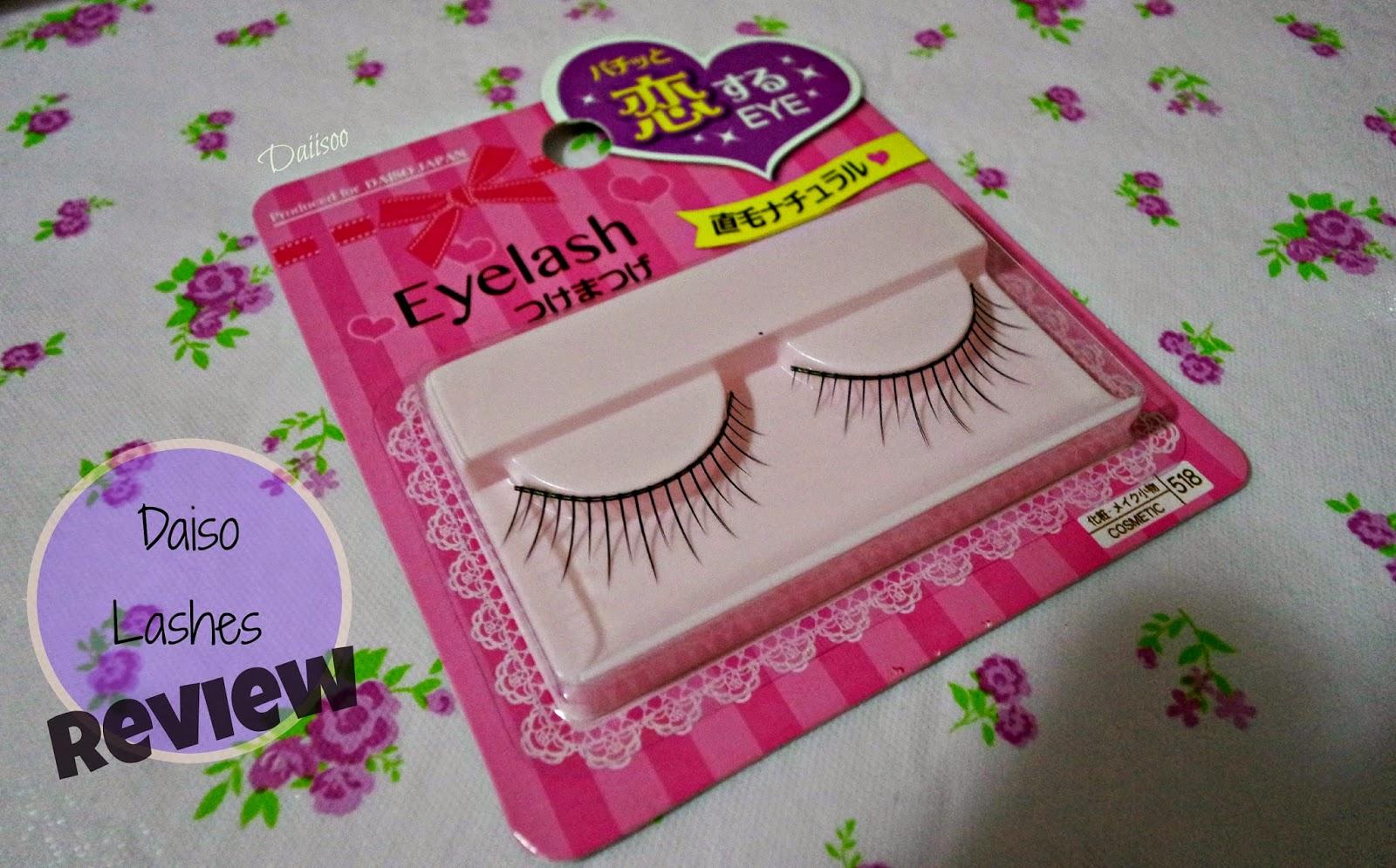 833605fceeb Daiisoo: [Review]: Daiso False Eyelashes