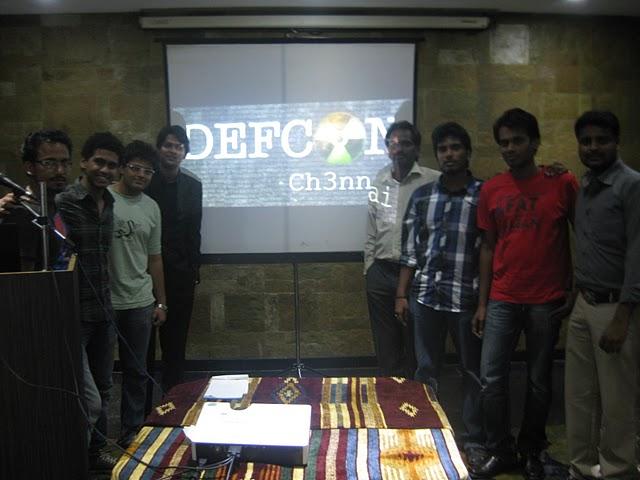 #DEFCON Chennai September 2011 meet - Another Success !