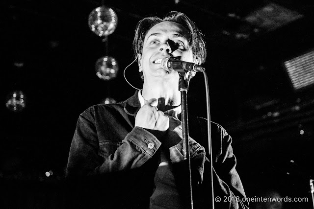 July Talk at The Legendary Horseshoe Tavern on May 10, 2018 for CMW Canadian Music Week Photo by John Ordean at One In Ten Words oneintenwords.com toronto indie alternative live music blog concert photography pictures photos