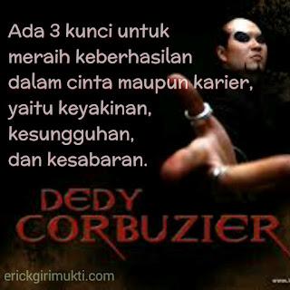 kumpulan kata bijak dan motivasi Dedy corbuzier
