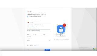 cara veifikasi biodata dalam pembuatan akun gmail