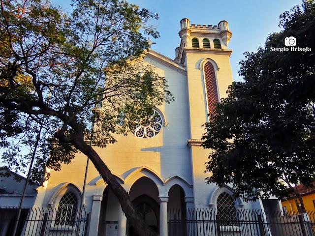 Vista da fachada da Igreja Santo Expedito - Capelania Militar - Luz - São Paulo