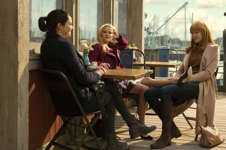 Fotograma del piloto de Big Little Lies de HBO con Nicole Kidman, Shailene Woodley y Reese Witherspoon