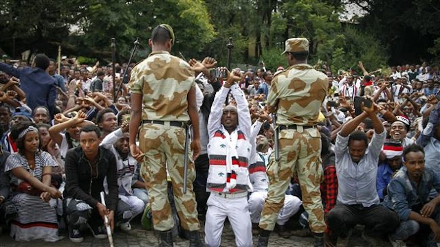 Ethiopian government blames foreign groups for violence