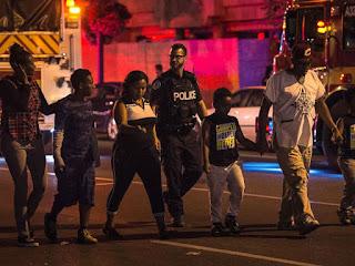 Tir sur les rues de Toronto laisse
