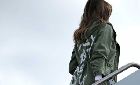 Donald Trump Sets The Record Straight About Melania's 'I Don't Care' Jacket