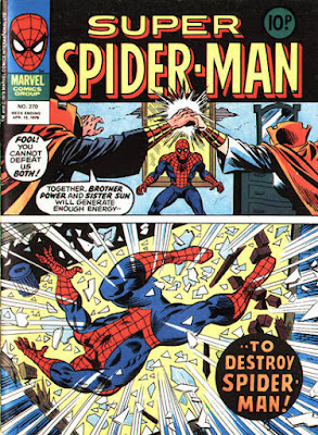 Super Spider-Man #270, Brother Power and Sister Sun