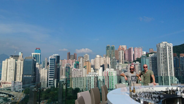 Top 5 Rooftop Bars in Hong Kong Restaurant View Harbour Skyline Causeway Bay SKYE Park Lane Hotel