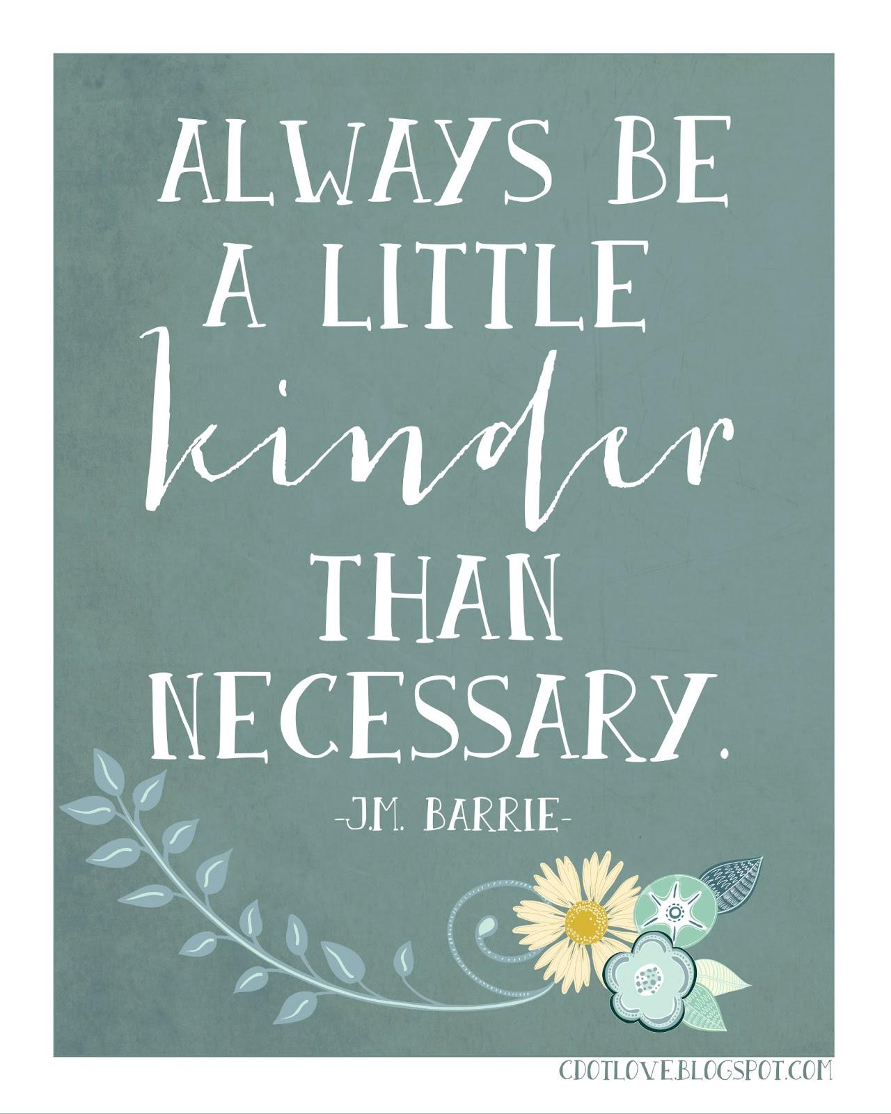 CdotLove Design { By Kristin Clove }: Kindness { With Free