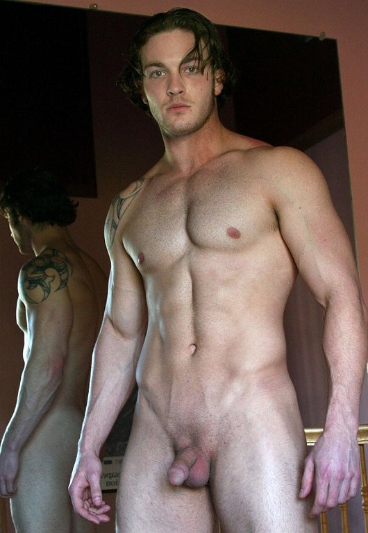 Sexy brown haired guy