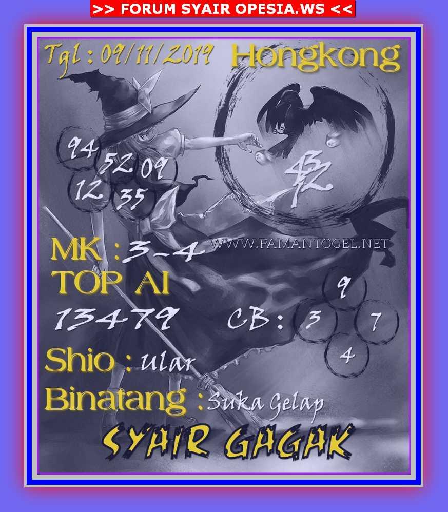 KODE SYAIR HONGKONG