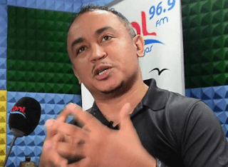 We parted ways 4 years ago and I never beat my ex wife' - Daddy Freeze reemphasizes.