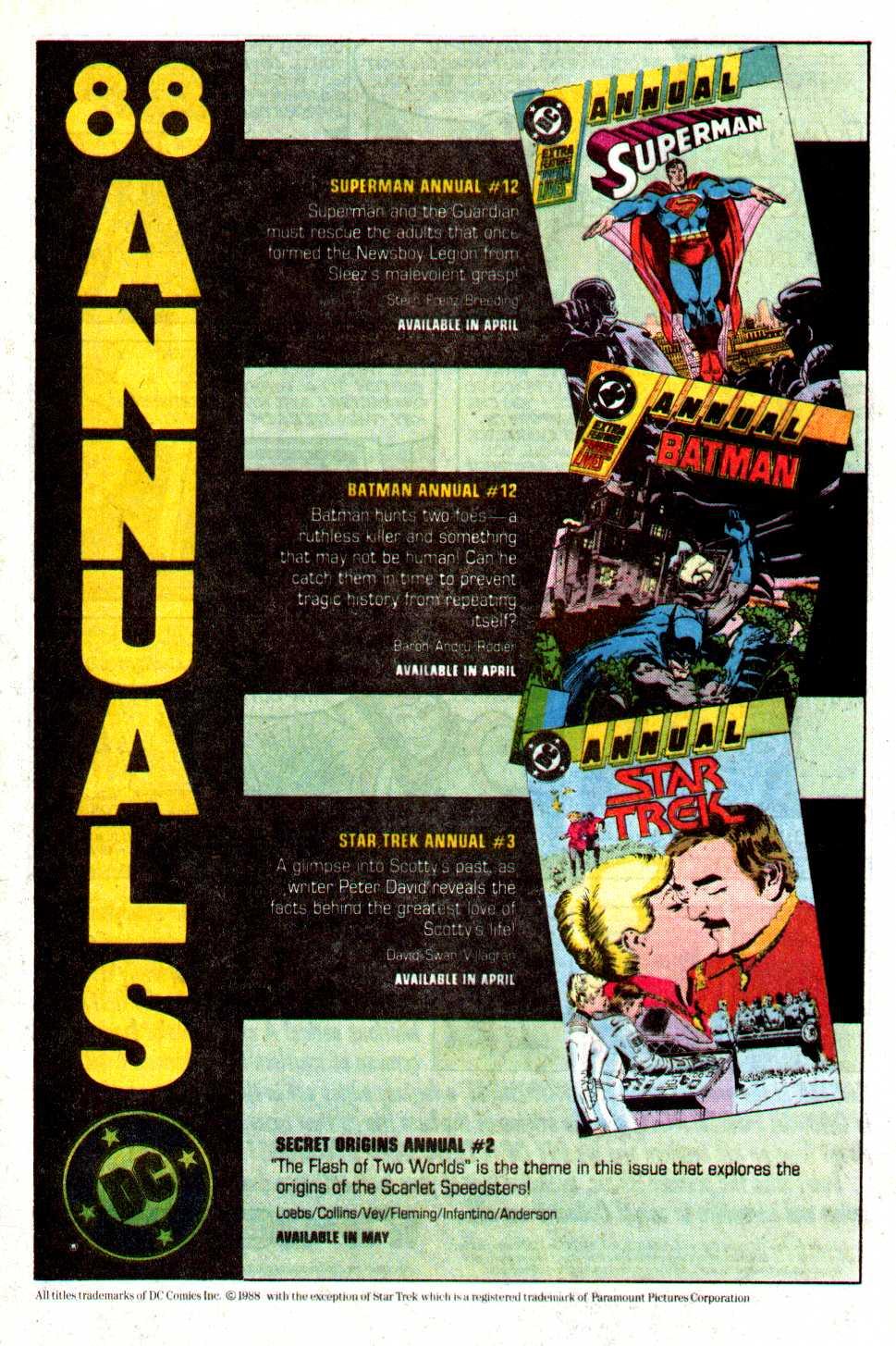 Read online Secret Origins (1986) comic -  Issue #29 - 36