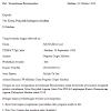Contoh Surat Permohonan Rekomendasi dari Yayasan Pondok Pesantren atau Majlis Ta'lim Maret 2017