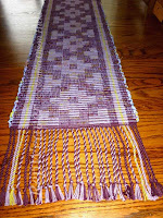 RepWeaver designed table runner