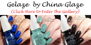 Gelaze by China Glaze Swatch Gallery