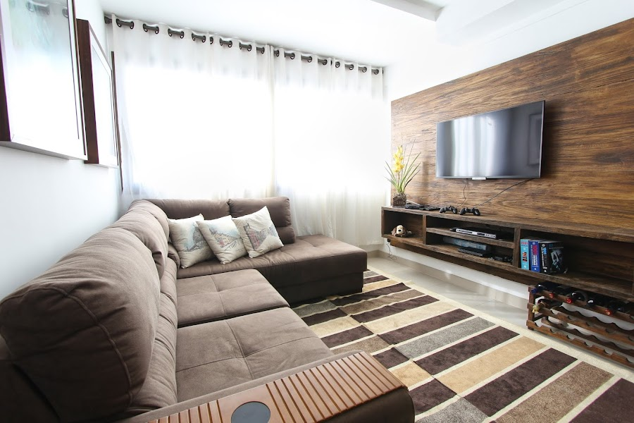 12 ideas para decorar la pared del televisor