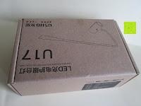 Verpackung: GHB dimmbare LED Schreibtischlampe 3-Level Helligkeit 360° flexiblen Schwanenhals Tischlampe -Weiß [Energieklasse A+]