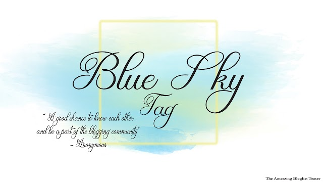 Blue Sky Tag : 33 Shades of me