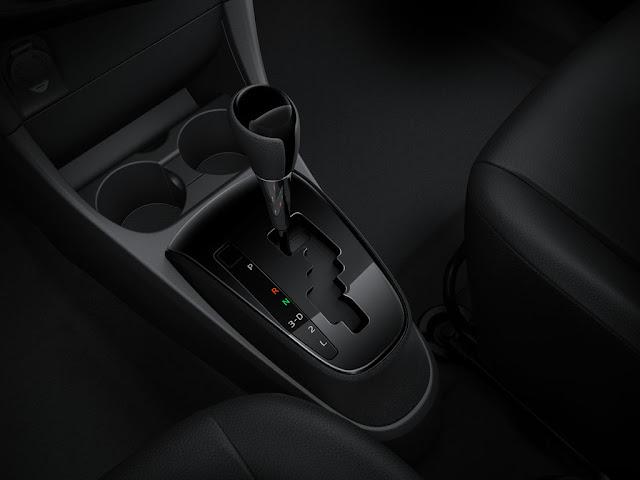 Toyota Etios Automático Platinum - câmbio