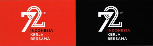 Logo primer merupakan logo utama yang harus diletakkan di atas latar belakang berwarna putih.