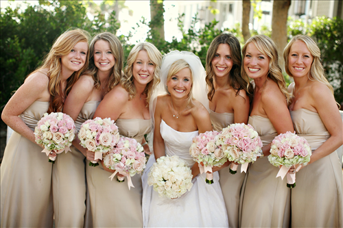 Fried Green Pickles: Wedding Wednesday: Bridesmaid Dresses