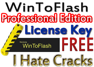 Get a WinToFlash key and use WinToFlash Professional Edition without having to use WinToFlash crack or any illegal keygen. Yes, You read it correct. WinToFlash.com team is giving away WinToFlash Professional Edition license for a limited time. Every interested Windows user can download WinToFlash full version and activate WinToFlash Professional Edition for free.