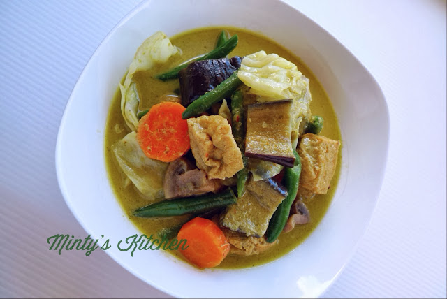 Vegetables Thai Green Curry