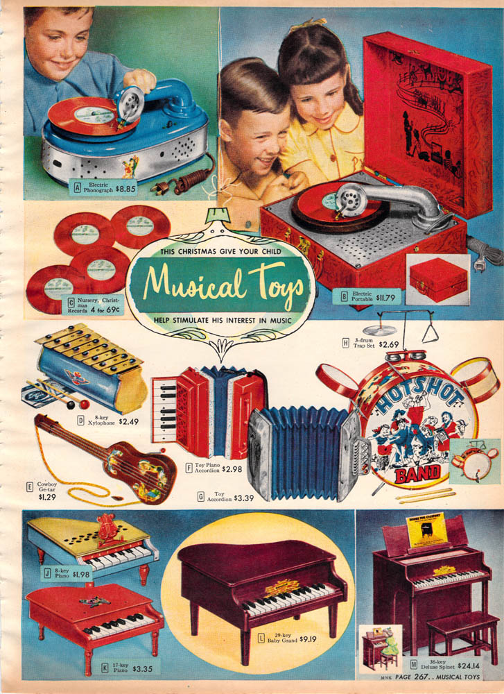 Old Soul Retro Times Christmas Toys Of The 40 S 50 S 60
