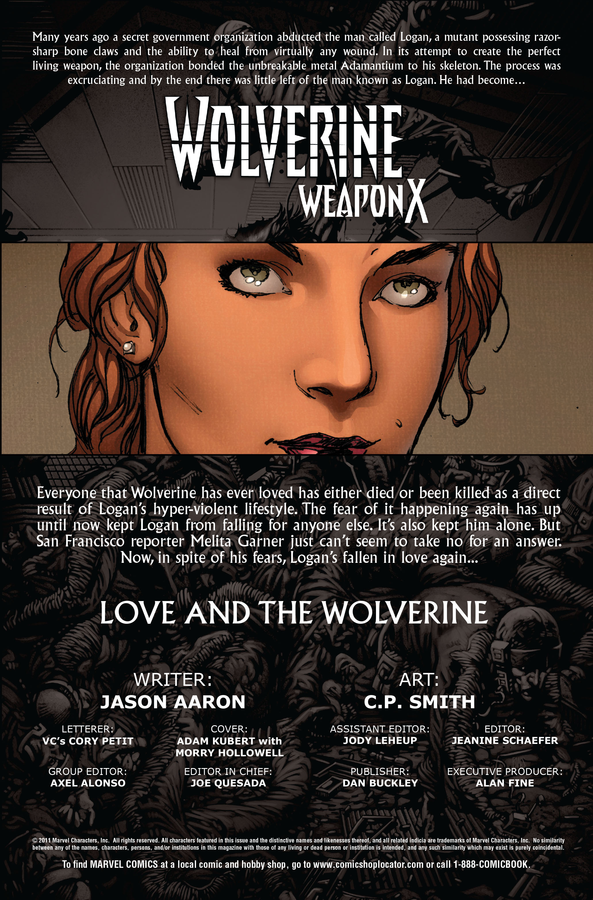 Read online Wolverine: Weapon X comic -  Issue #10 - 2