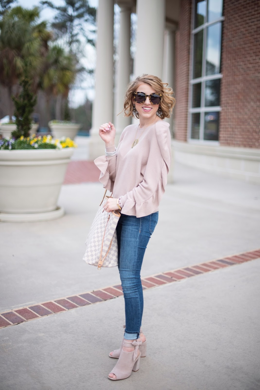 Blush Pink and Ruffles - Something Delightful Blog