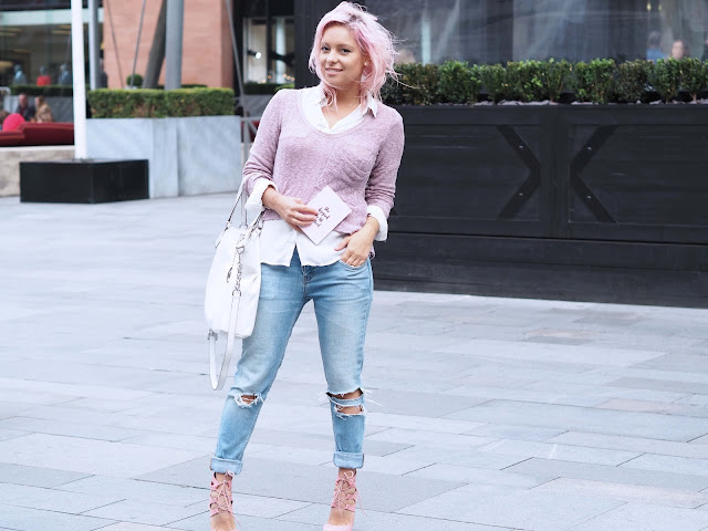 Pink Hair Outfit fashion style