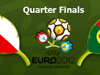 Laga Perempat Final Euro 2012 : Rep. Ceko vs Portugal