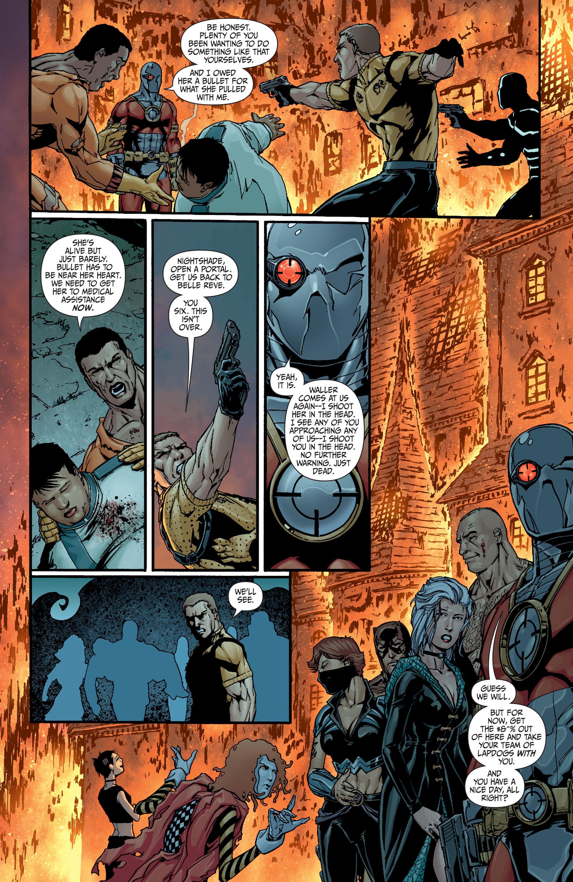 Read online Secret Six (2008) comic -  Issue #18 - 21