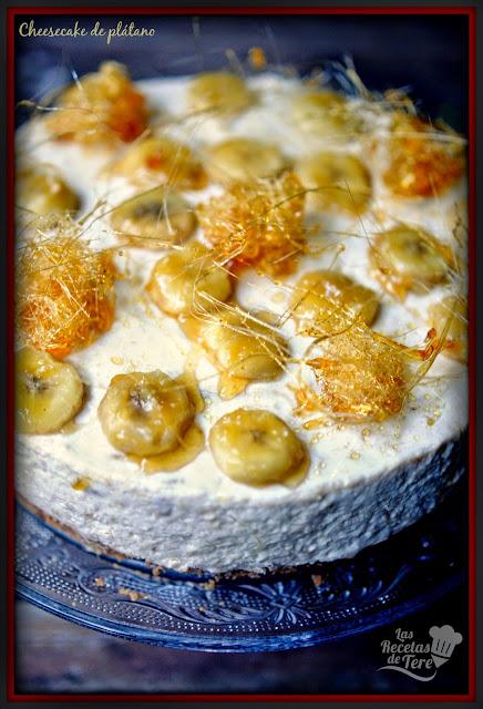cheesecake de plátano tererecetas 06