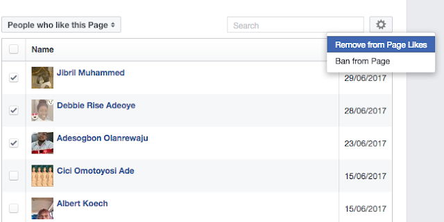 How to Remove Someone Who Likes Your Facebook Page