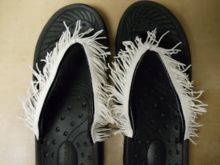 One-of-a-Kind Flip Flops with Velcro® Brand Fasteners 4