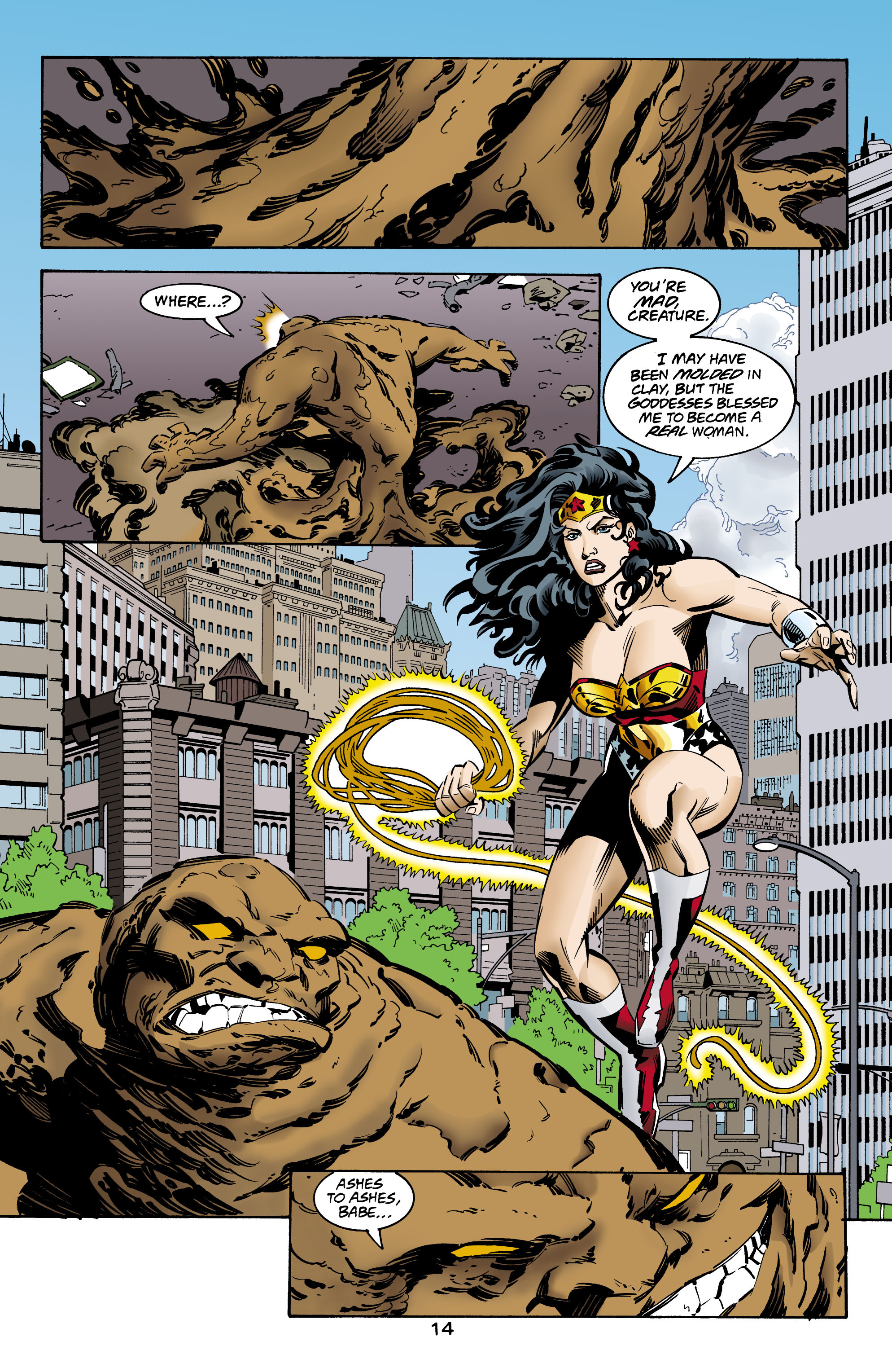 Read online Wonder Woman (1987) comic -  Issue #160 - 15