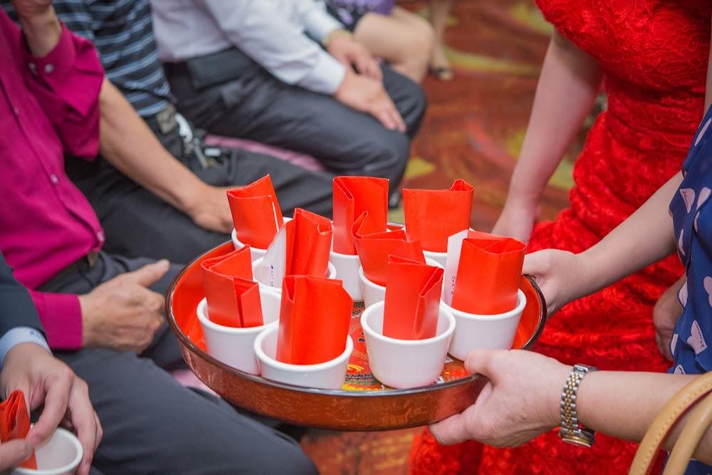 文定儀式流程建議收茶杯紅包