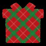 クリスマスのマーク(チェック・プレゼント)