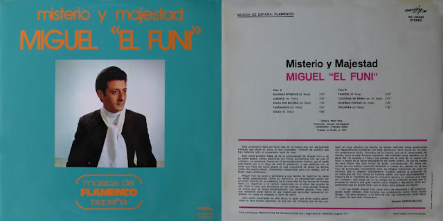 """MIGUEL EL FUNI, PEDRO PEÑA """"MISTERIO Y MAJESTAD"""" ACCION 1974"""