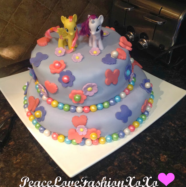 My Little Pony Birthday Cake Walmart