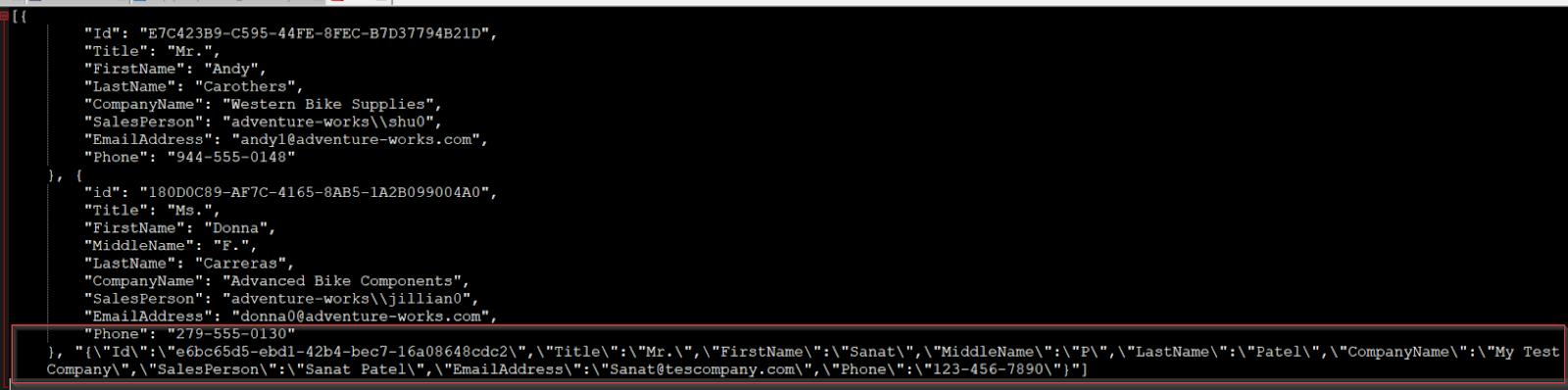 Atul Patel's Blog : SQL server JSON using practical scenario with
