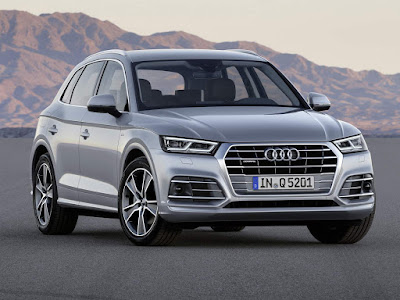 2017 Audi Q5 Luxury SUV wallpaper